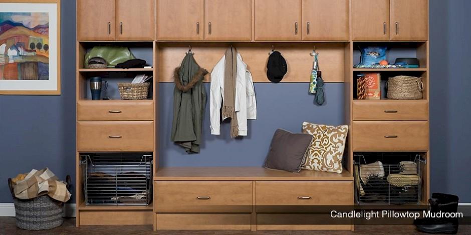 custom mudroom cabinets