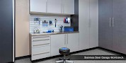 Stainless Steel Custom Garage Workbench Countertop